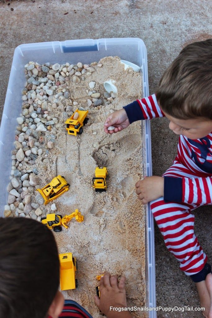 DIY Sand and Rock Box - FSPDT