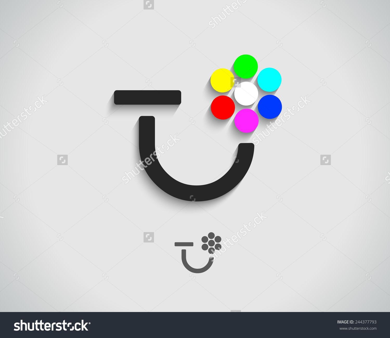 Abstract Vector Logo Design Template Creative Stock
