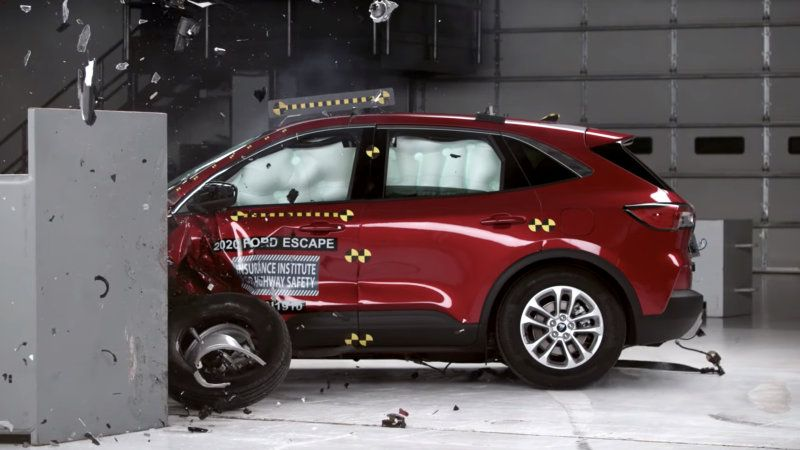 2020 Ford Escape And Lincoln Corsair Get Iihs Top Safety Pick Rating Ford Escape Ford Escape