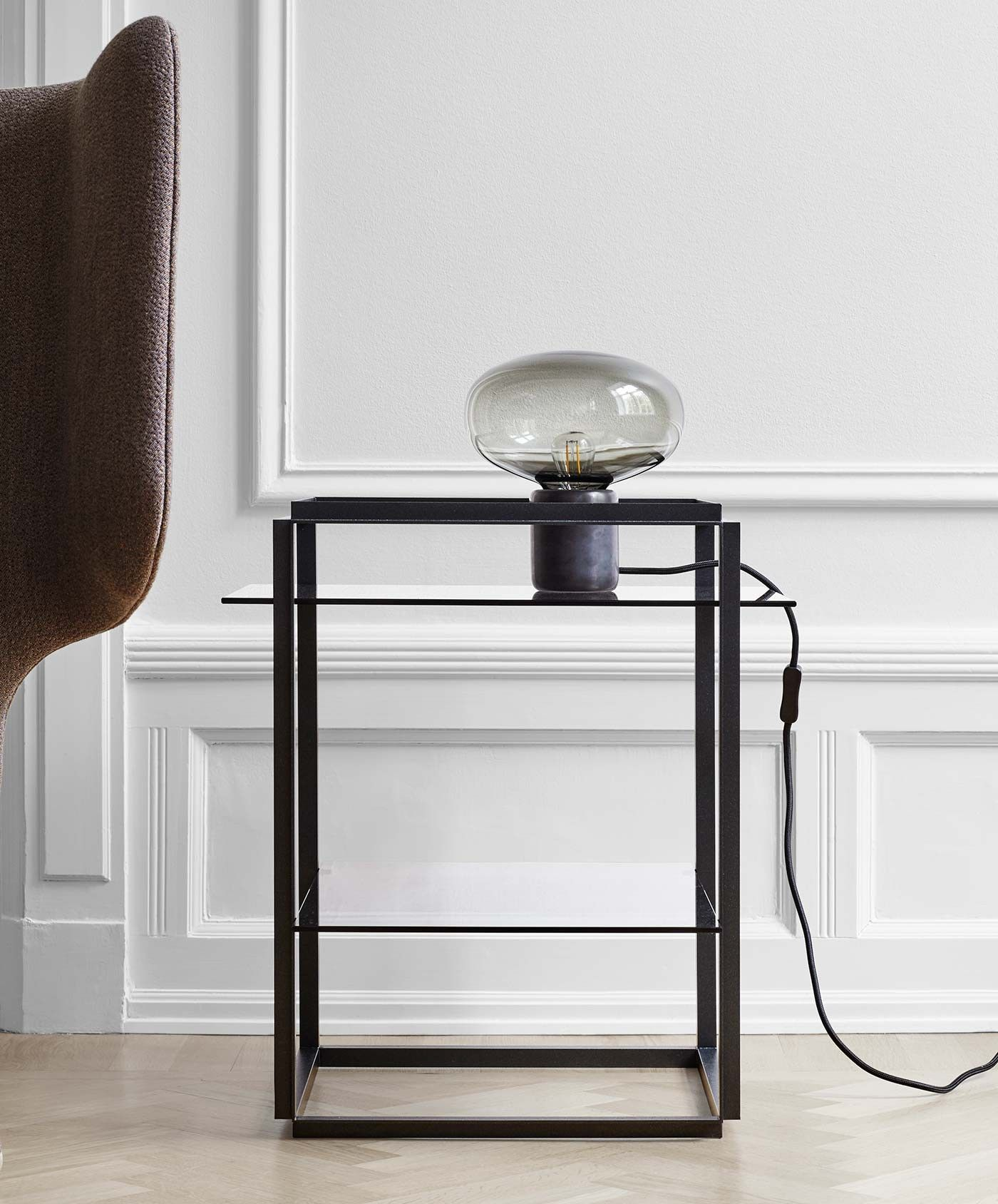 New Works Florence Side Table Bijzettafel Black Table Lamps Table Lamp Lighting Table
