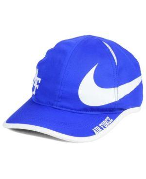 Nike Air Force Falcons Big Swoosh Adjustable Cap Blue
