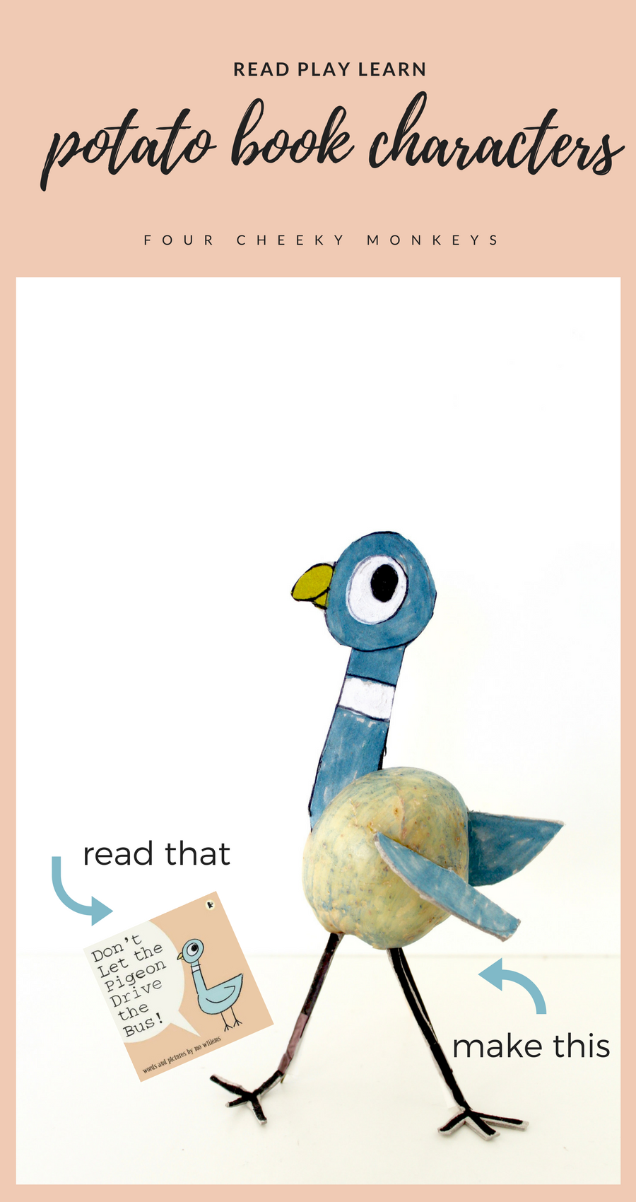 Read Play Learn Potato Book Characters Library Ideas