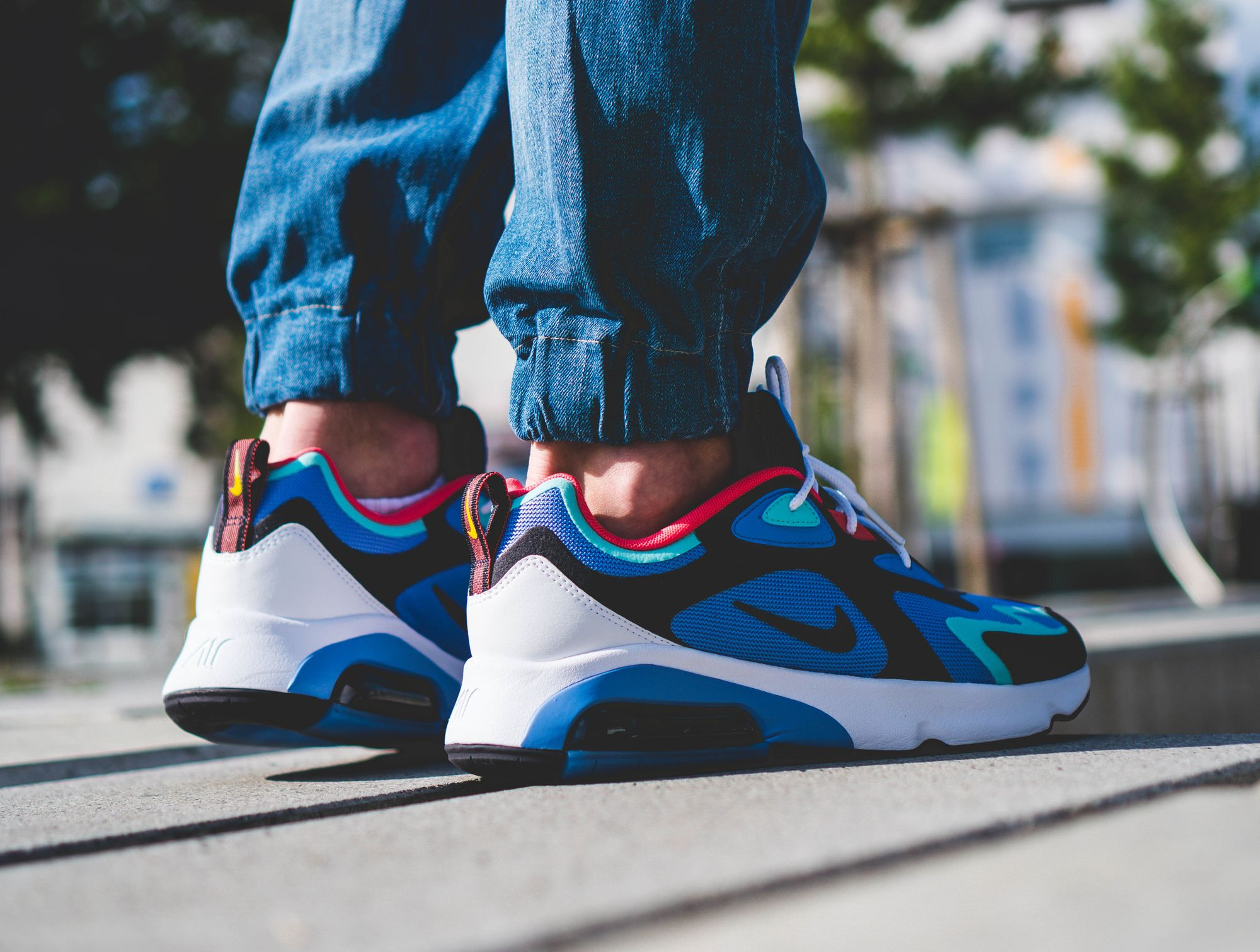 The brand new Nike Air Max 200 lifestyle silhouette in a