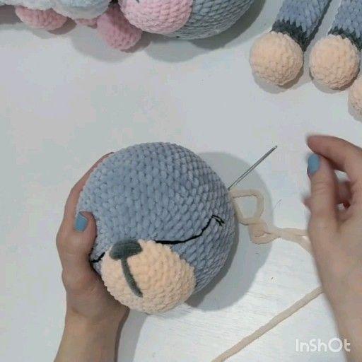 Amigurumi rabbit pattern, crochet bunny tutorial, lovey animals pattern