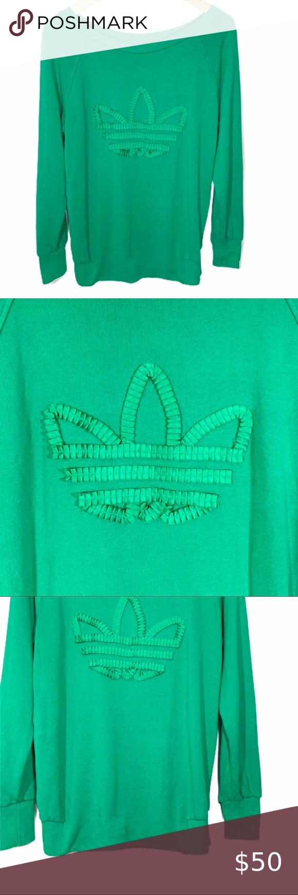 Adidas Originals Eq Ribbon Logo Sweatshirt Sweatshirts Adidas Originals Adidas Tops [ 1740 x 580 Pixel ]