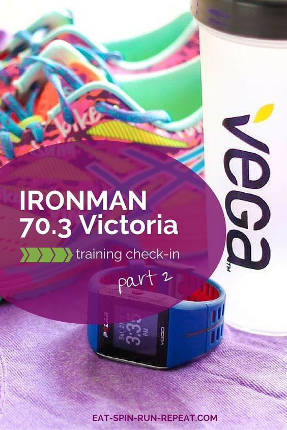 One month down, 15 weeks to go until the Ironman 70.3 Victoria triathlon. Here's how training and nutrition are going so far!