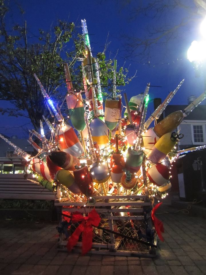 Provincetown Lobster Pot Tree. Lobster Pot Tree Lighting 2013 #CapeCod   Christmas in england ...
