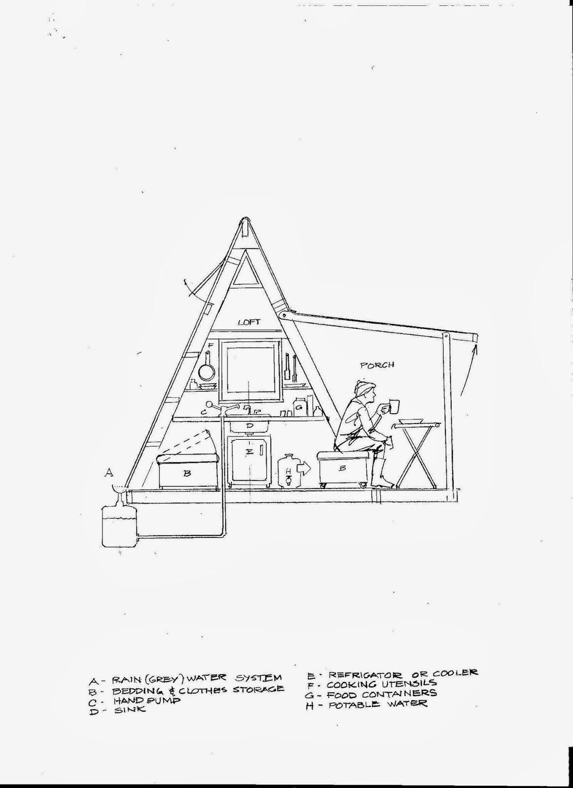 "Deek David Stiles and Joe Everson team up on a ""Transforming A Frame Cabin"""