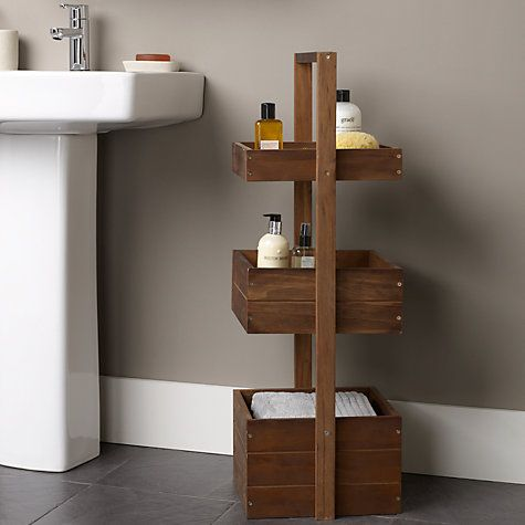 1000+ images about Bathroom Storage on Pinterest | Shelves, Small bathroom storage and Hanging baskets - Images About Bathroom Storage On Pinterest Shelves, Small