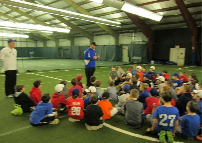Liberty Baseball Clinic With Chad Billingsley Parisispeed Sinking Springs Soccer Field Ymca Clinic