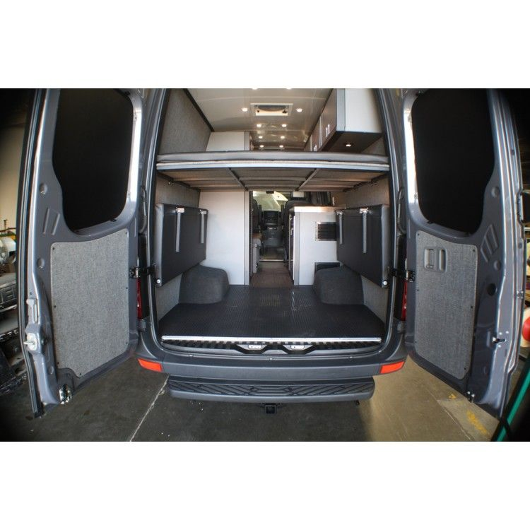 Sprinter Van Conversion Camper Conversions Ideas Mercedes Benz Cargo