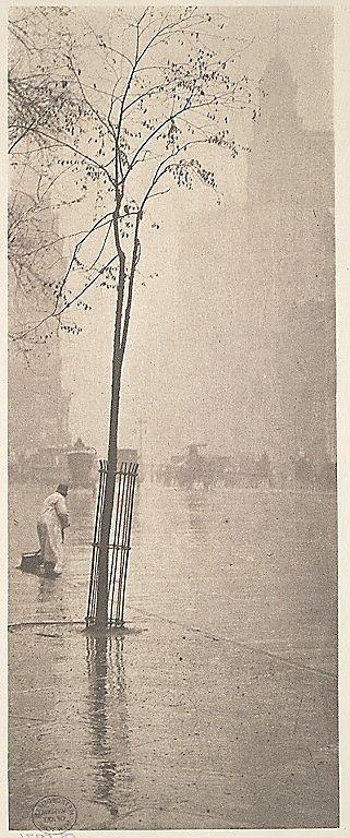 Spring Showers, New York I Alfred Stieglitz