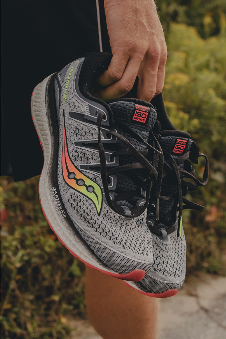 Now get more bouncy EVERUN™ cushion than ever with the updated Men s  Saucony Triumph ISO f25a46eac70