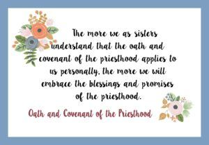 Sassy image inside oath and covenant of the priesthood printable