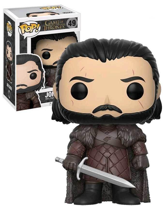 Funko Pop Game Of Thrones 49 Jon Snow Funkopop Gameofthrones Collectibles Pop Game Of Thrones Jon Snow Pop Funko Game Of Thrones