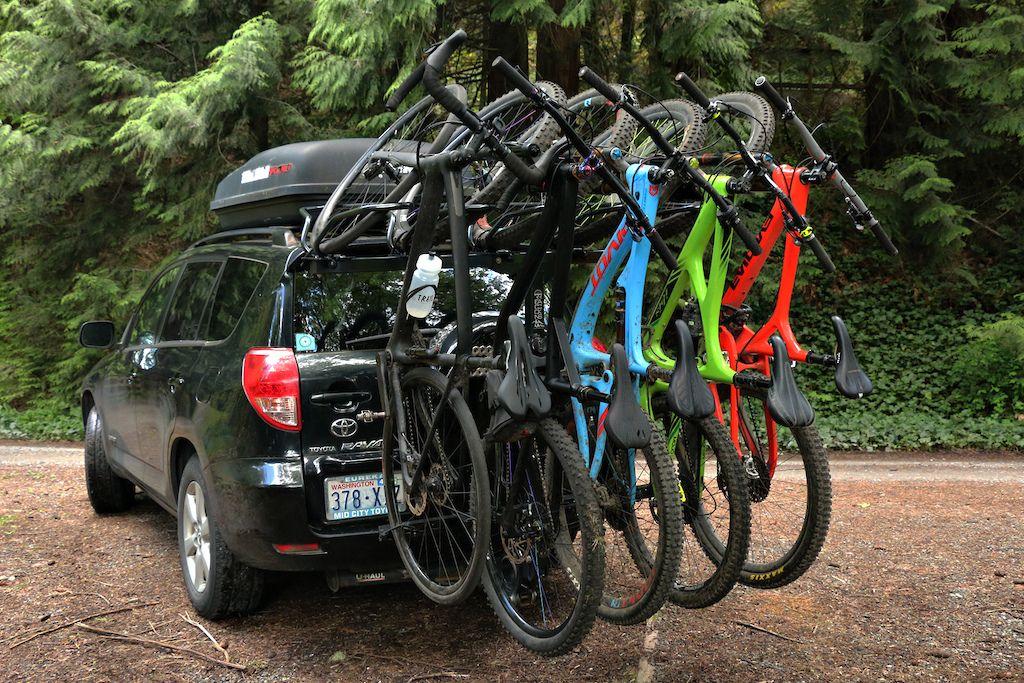 Recon Gen 2 R5 Shuttle Rack Review Car Bike Rack Bike Rack Bike