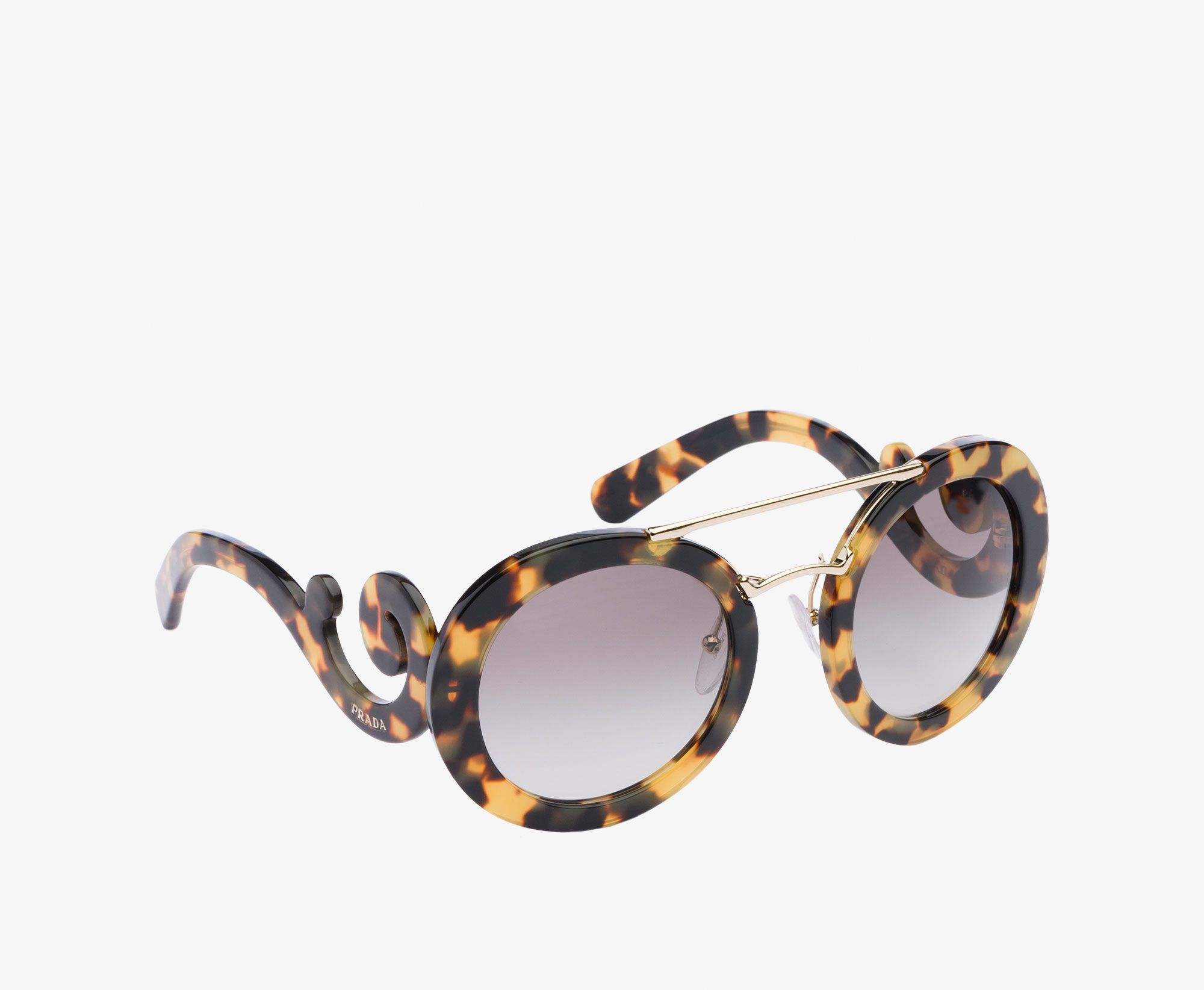 9d071e01eba1 Prada Woman - Eyewear - Dark grey gradient and lake blue lenses -  SPR13S_E7S0_F00A7