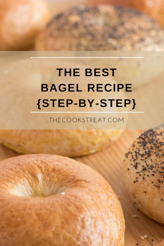 Photo of The Best Bagel Recipe {Step-by-Step} | The Cook's Treat