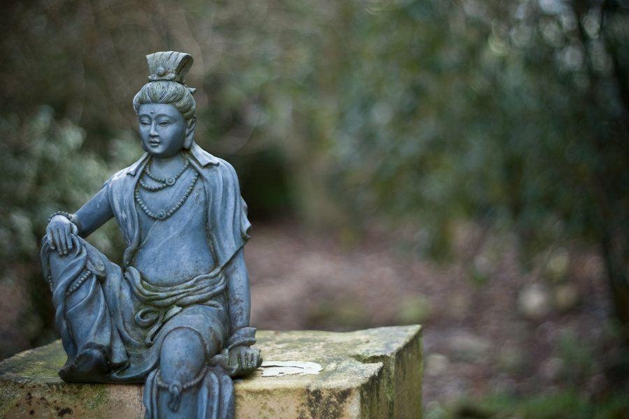 chilling Buddha by Scott2206.deviantart.com on @deviantART