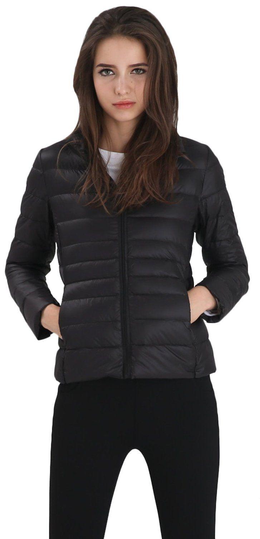 06721432a Wantdo Women's Packable Ultra Light Weight Short Down Jacket at ...