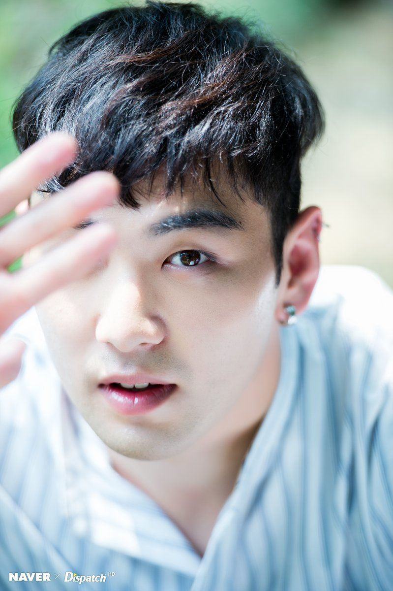 NU'EST W Baekho Dongho for NAVER x DISPATCH Korea 2017