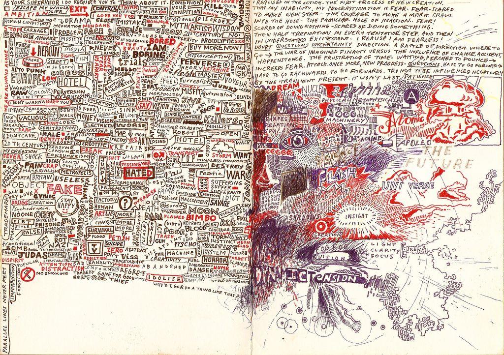 Bluestew On Flickr Great Work Revisit Sketch Book Book Art
