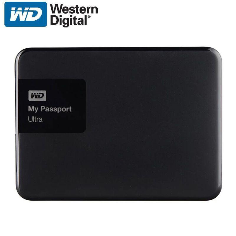 Wd My Passport Ultra External Hard Drive Disk Hd 1tb High Capacity Sata Usb 3 0 Storage Device O External Storage Storage Devices External Hard Drive