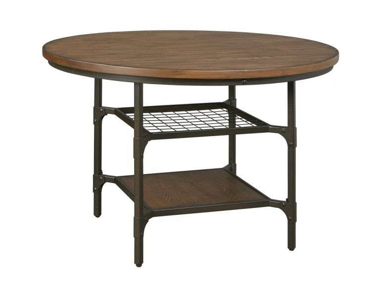 Get Your Rolena   Brown   Round Dining Room Table At Kerbyu0027s Furniture, Mesa  AZ Furniture Store.