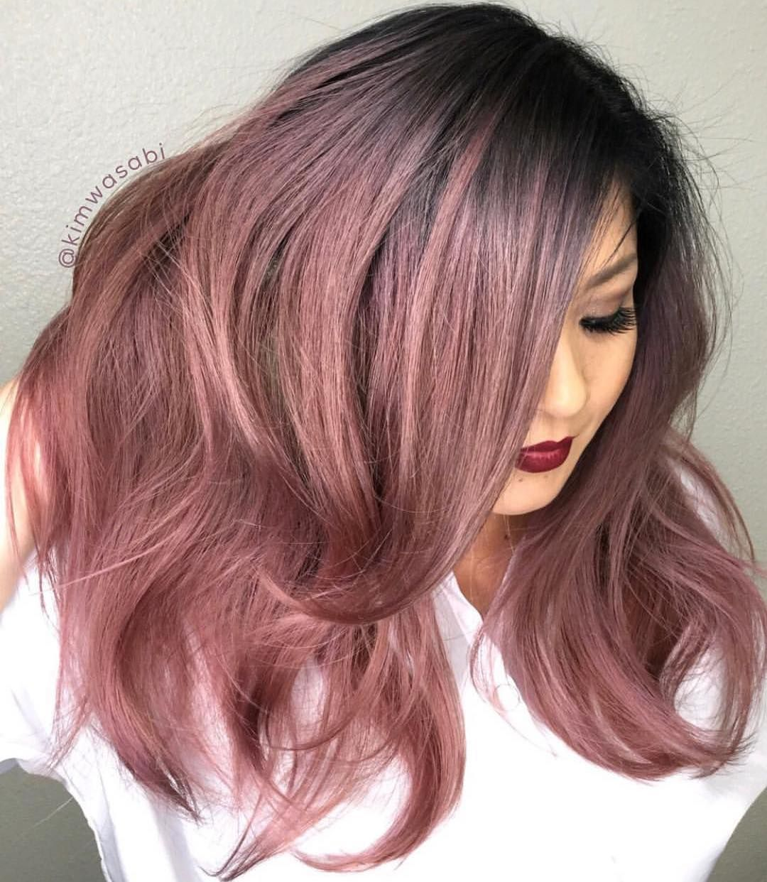 Holy Metallics Rose Gold Color And Hair By Kimwasabi