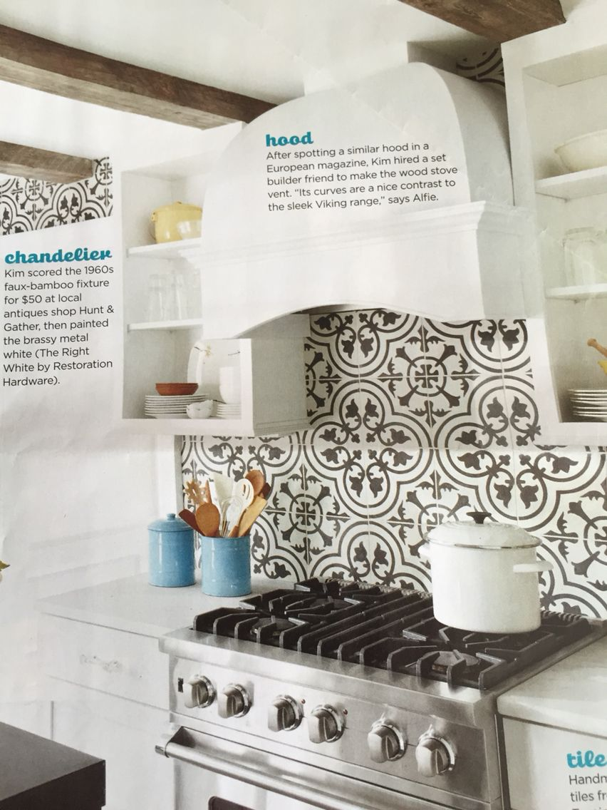 - Black And White Tile From Cuban Tropical Tile Co. In This Month's
