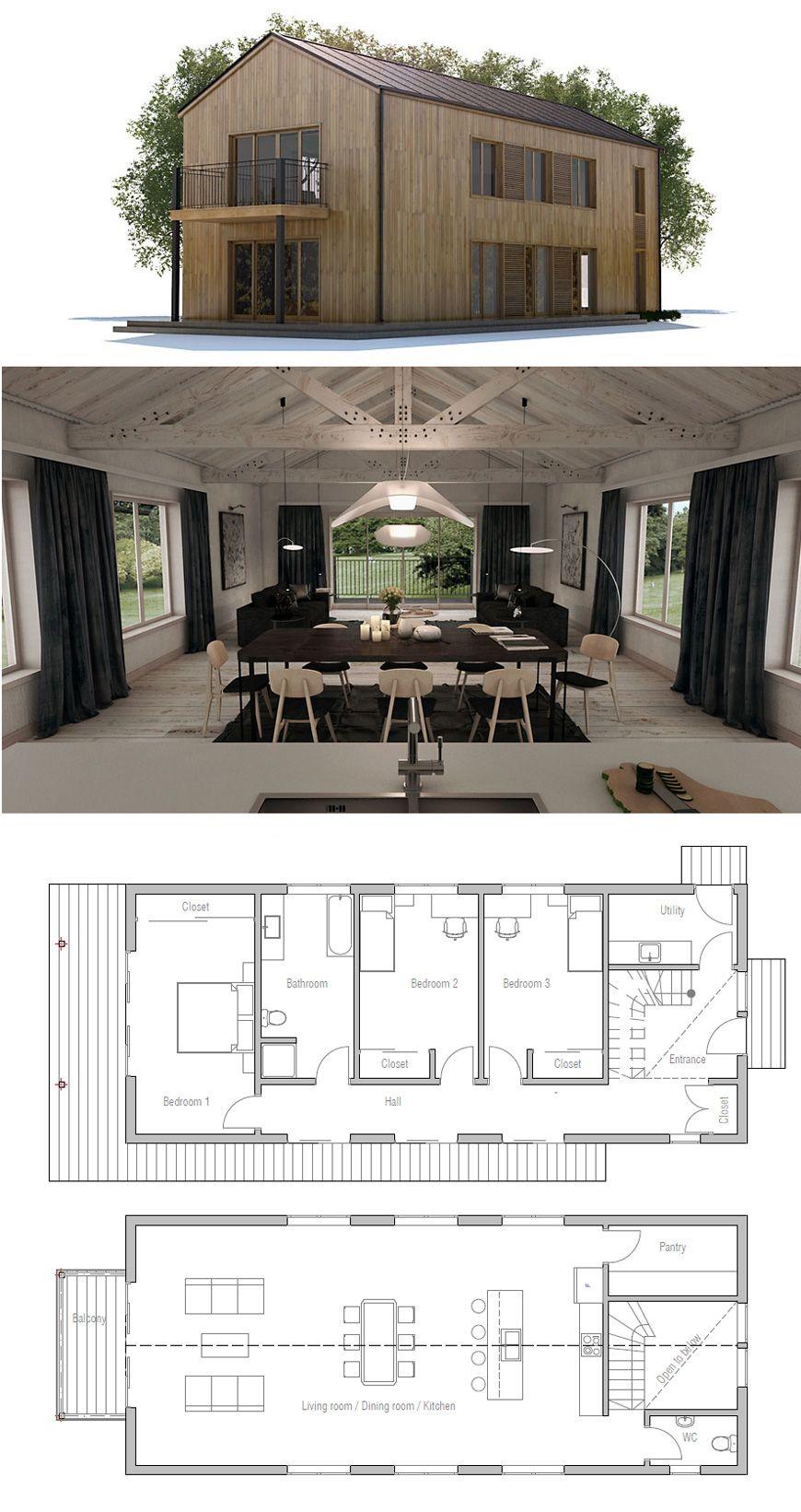 Plan de Maison   Architektur   Haus pläne, Haus bauen und Hauspläne