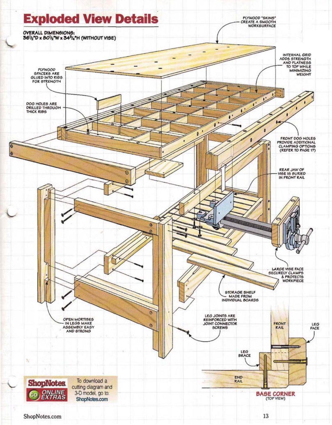 Pin de susana aguado en carpinteria pinterest muebles for Planos de carpinteria