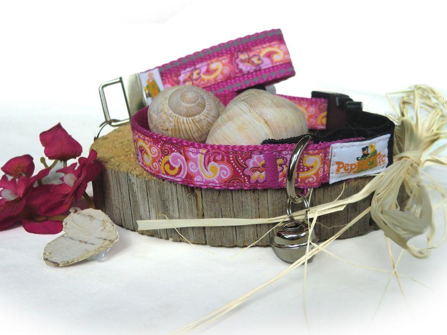 peppetto katzenhalsband fiorella mit gummizug gl ckchen kaufen. Black Bedroom Furniture Sets. Home Design Ideas