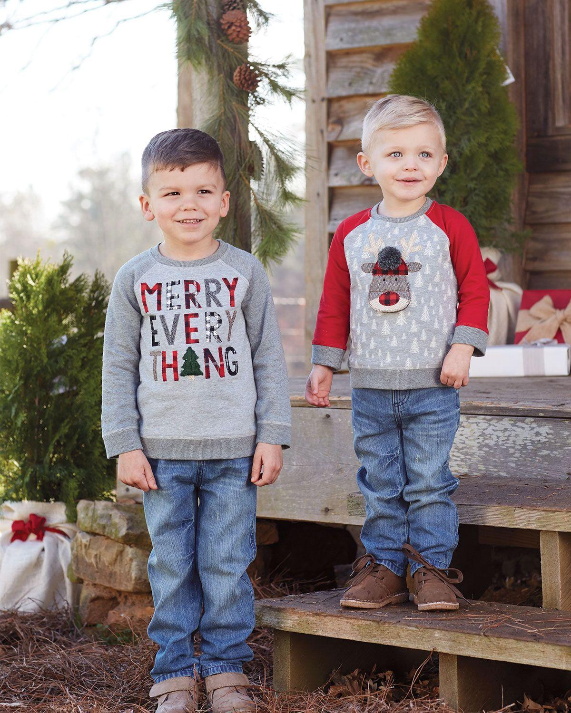 Mud Pie Kids Baby Girls Santa Alpine Village Christmas 1 Pc Set