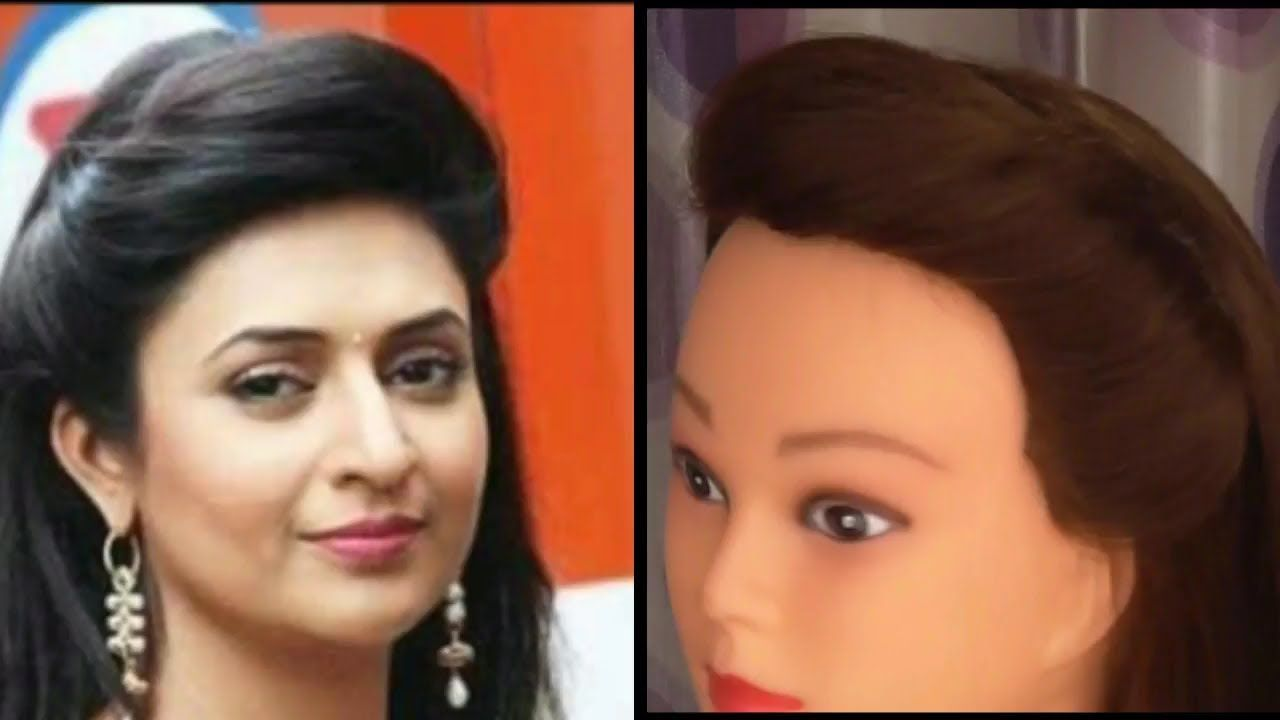 Easy And Simple Puff Hairstyle Inspired By Divyanka Tripathi Easy Everyday Side Puff Hairstyle Youtube Hair Puff Hairstyle Short Hair Styles