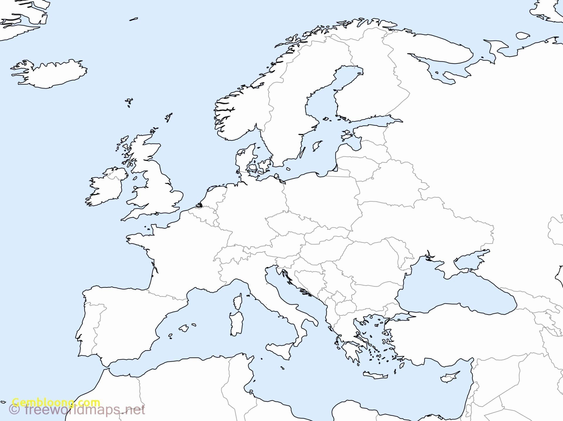Coloring Map Of Europe Countries In