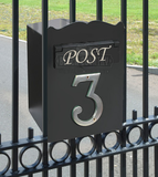 The Mulrose Post Box For Gates