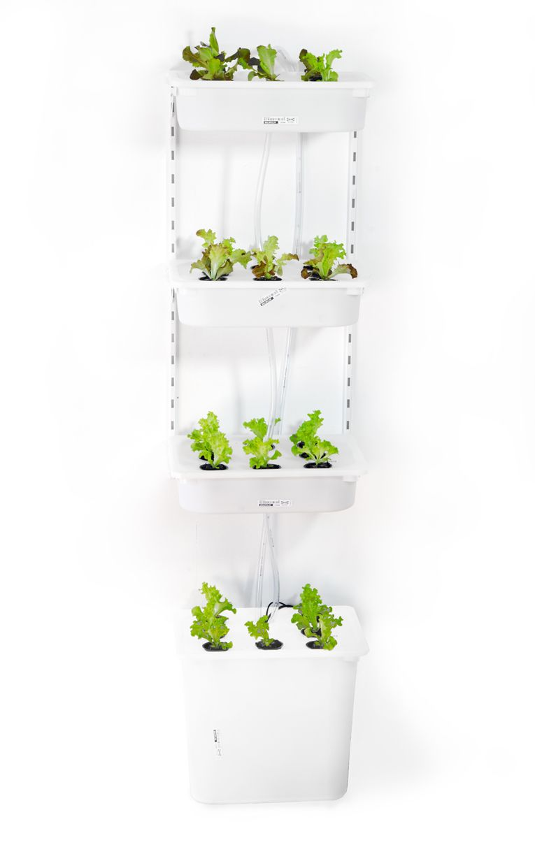 Eliooo Grow Your Food Or How To Go To Ikea And Build A Device To Grow Salad In Your Apartment Hydroponics Diy Hydroponic Growing Hydroponics