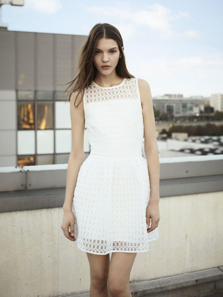 Robe blanche maje 2014