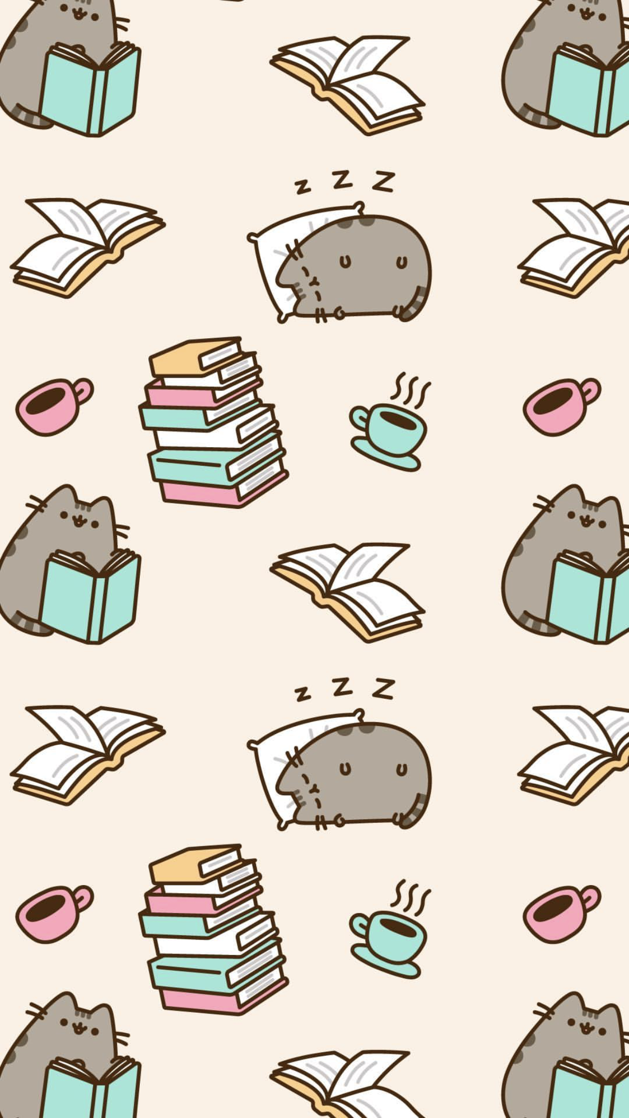 Pusheen The Cat Iphone Wallpaper Pusheen Cat Pusheen Cute Cute Wallpaper For Phone