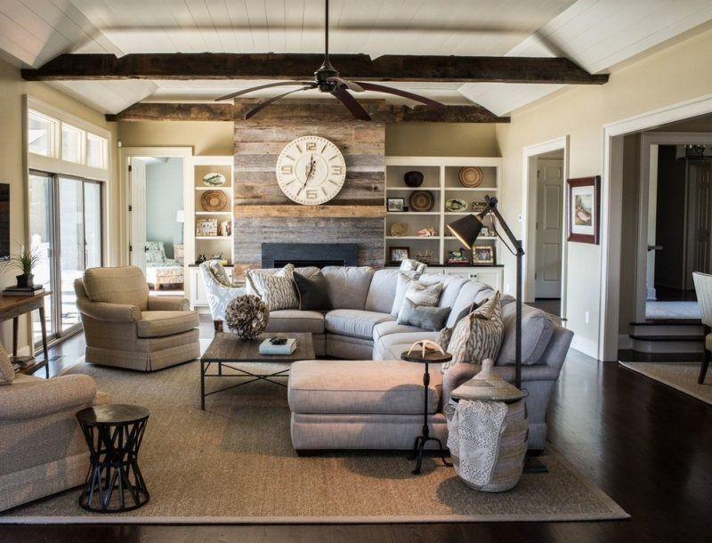 d coration d 39 int rieur salon 135 id es en styles vari s tapis sisal salon l gant et. Black Bedroom Furniture Sets. Home Design Ideas