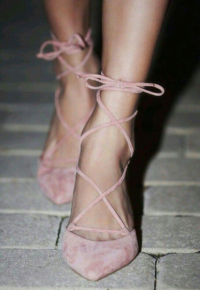 Zapatos rosas Pantone para mujer hrx54LJ