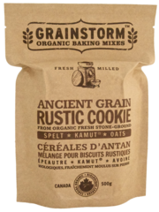 Just made their wheat muffin mix and it was totally amazing that I immediately purchased 8 different types of mixes on their website.  I found this company when I went to Canada over the summer at Whole Foods.  Grainstorm specializes in whole grain baking with fresh-ground organic Canadian heritage grain. Bake like it's 1869!