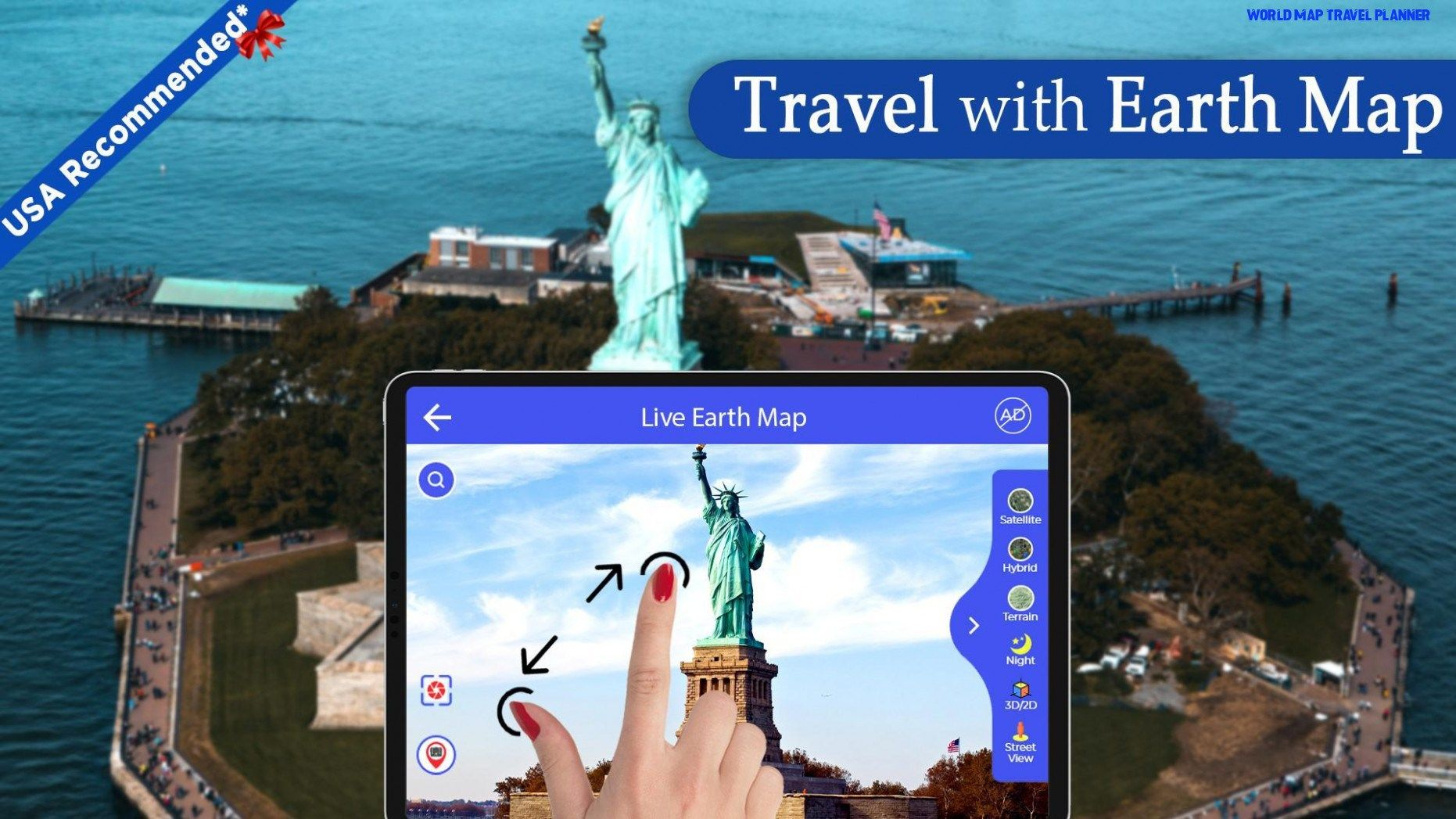 Five Taboos About World Map Travel Planner You Should