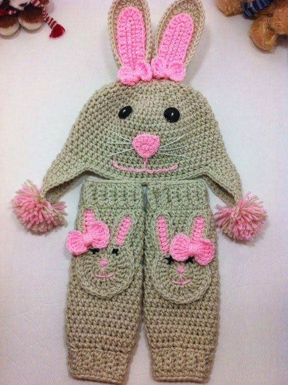 Sidney Artesanato: Linda Coelhinha | baby crochet | Pinterest