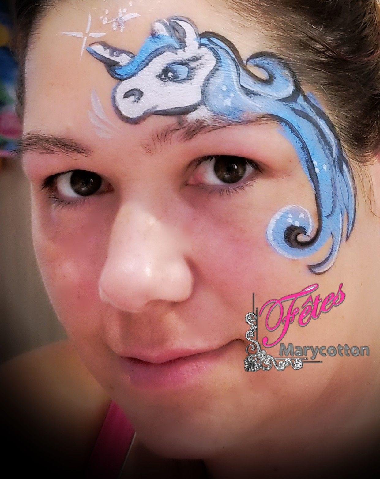 maquillage licorne facepaint fetesmarycotton marycottonpaint unicorn  ✨✨✨ Visitez votre boutique