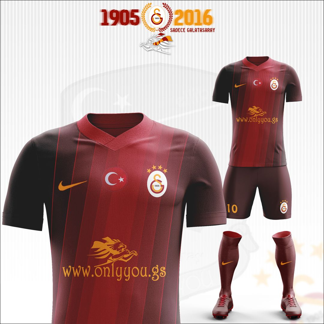 7dd5bff74 Galatasaray SK Football Kit 2017 - 2018 on Behance