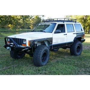 Rusty S Steel Fender Flares Xj With Images Fender Flares Jeep Tire Cover