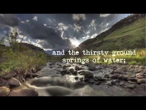 Isaiah 35: Streams In The Desert