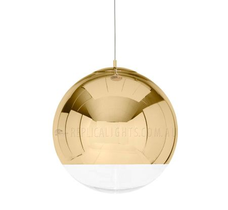 Tom Dixon Mirror Ball Gold Pendant Light Replica Lights Is Truly Eye Catching From This Designer An Impressive Super Reflective Shade Best Lampen